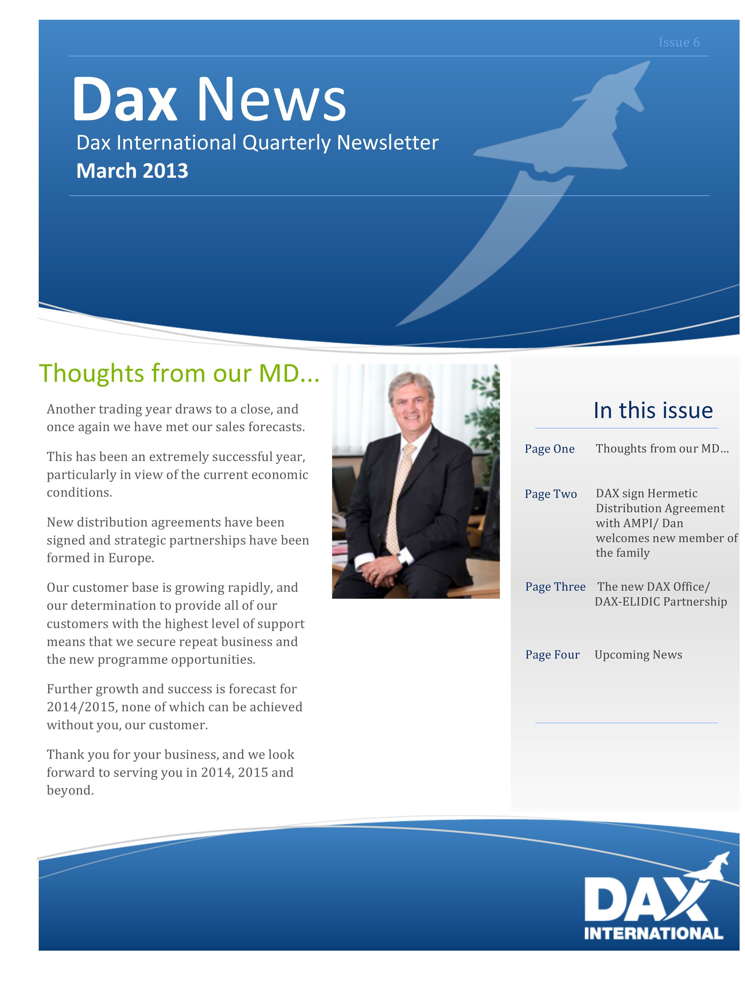 Microsoft Word - DAX Newsletter March 2013.docx